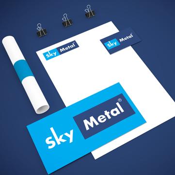 Sky Metal design by RVS Media